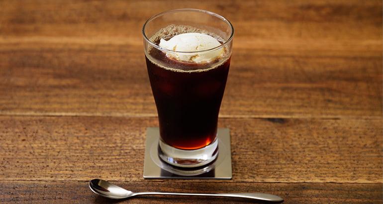 クリーム黒蜜アイスコーヒー