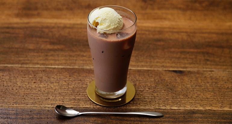チョコレートフロート